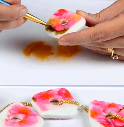 Faux Broken China polymer Clay Tutorial